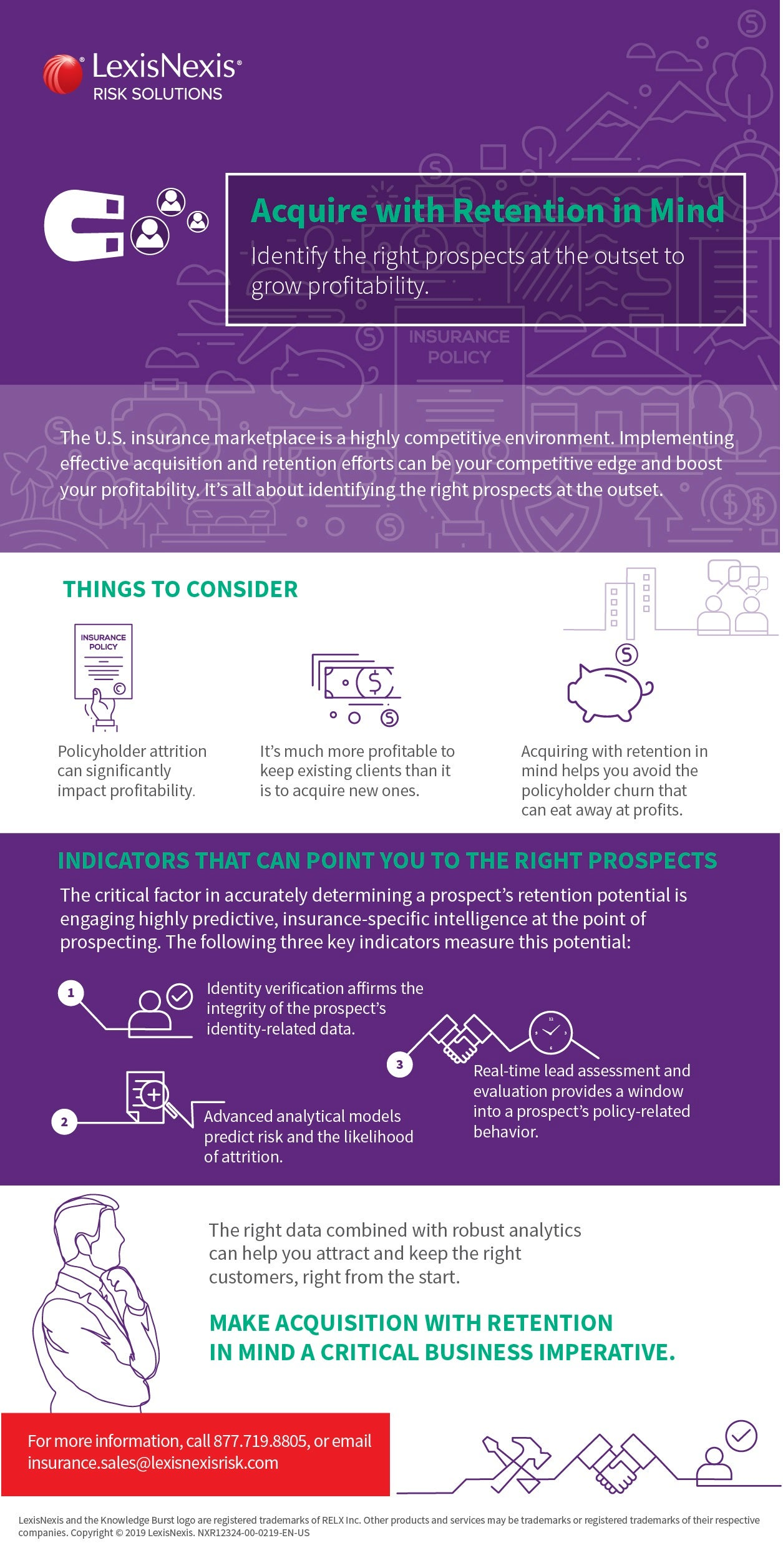 Acquire With Retention in Mind Infographic | LexisNexis Risk