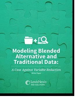 Modeling Blending Traditional and Alternative Data