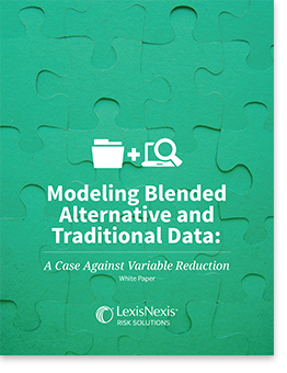 Modeling Blending Traditional and Alternative Data