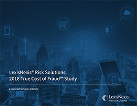 True Cost of Fraud for Financial Services