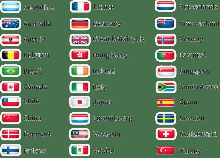 Instant Verify International clients