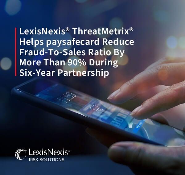 Paysafecard Cuts Fraud with ThreatMetrix