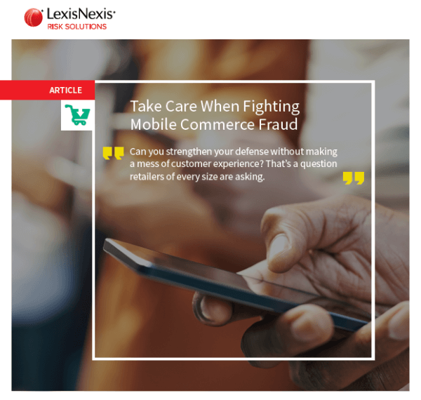 Fighting Mobile Commerce Fraud