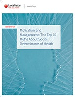 myths about social determinants of health white paper