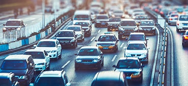 Telematics blog cars driving highway