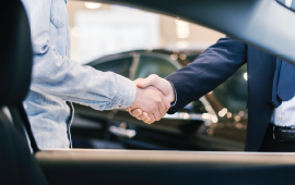 Owner check product sheet hand shake