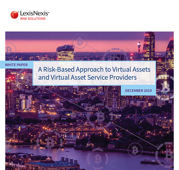 A risk-based approach to virtual assets